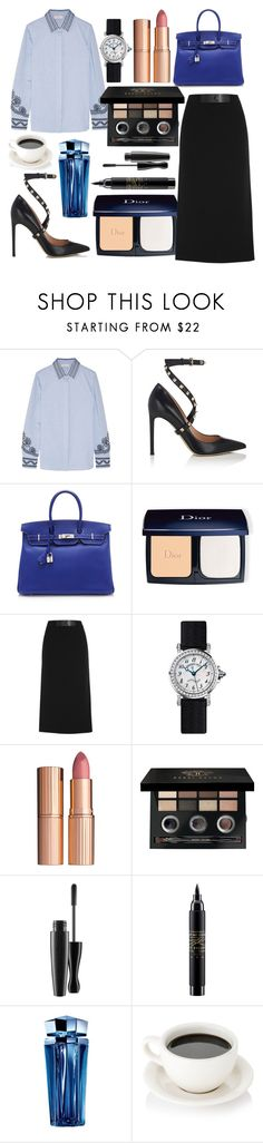 """Untitled #458"" by ngkhhuynstyle ❤ liked on Polyvore featuring Tory Burch, Valentino, Hermès, Christian Dior, Tom Ford, Breguet, Charlotte Tilbury, Bobbi Brown Cosmetics, MAC Cosmetics and Thierry Mugler"