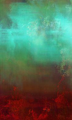 Aurora - Abstract Art Mixed Media by Jaison Cianelli.  http://www.cianellistudios