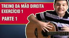 Aula de Violão Para Iniciantes |  TREINO DA MÃO DIREITA | EXERCÍCIO 1 - ...