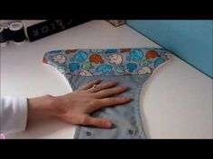 Sewing the Perfect Cased Elastic in Cloth Diapers - YouTube