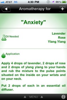 Great Aromatherapy App