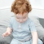 Toffee Moon Boys Fine Knit Top and Trouser