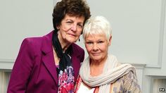 """""""Judi Dench was honoured with the lifetime achievement award, while Philomena won best marketing campaign - following the real-life Philomena Lee and Steve Coogan's visit to the Pope..."""" From the Guardian online."""
