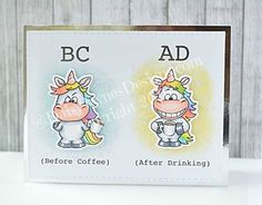 My Daily Coffee Timeline! Gerda Steiner Designs Card by DaisyJaynesDesigns #handmade #cardmaking #stamping