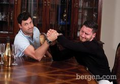 Maks and Val have fun joking around during our photoshoot at their home on February (Photo by Anne-Marie Caruso) Dwts Pros, Val Chmerkovskiy, Shall We Dance, Brotherly Love, Just Beauty, Good Jokes, Dancing With The Stars, Embedded Image Permalink, Have Fun