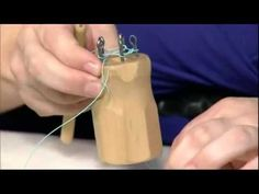 How to Use a Knitting Spool - YouTube This video shows how to do a single knit on a knitting spool for making jewelry!