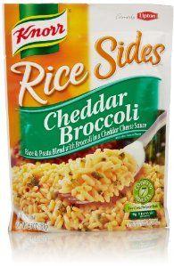 Best Knorr Rice Sides Cheddar Broccoli Recipe On Pinterest