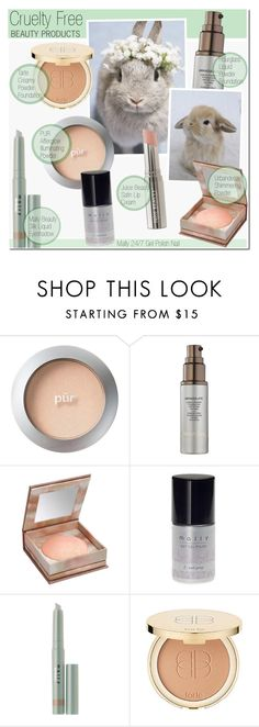 """""""Cruelty Free Beauty Products"""" by anna-anica ❤ liked on Polyvore featuring beauty, PurMinerals, Hourglass Cosmetics, Disney, Urban Decay, Mally, tarte, Beauty, products and crueltyfree"""