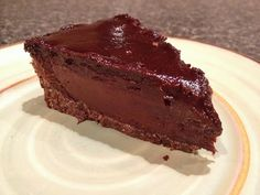 Amazing double chocolate truffle pie from Hannah Kaminsky on #vmcooks