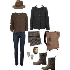 """""""imaginary outfit: two museum afternoon"""" by evencleveland on Polyvore"""