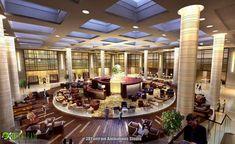 #Commercial Hotel 3d Interior Rendering Design in Paris ,  #Marseille , #France