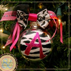 Holy cute Christmas ornament!