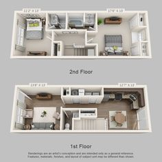 St. James Crossing Townhome Floor Plan 2