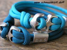 Personalisiertes Armband Geschenk Freund Freundin von www.Schmuckkistl.de auf DaWanda