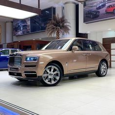 Petra Gold Rolls-Royce Cullinan Showcased With Moccasin Interior | Carscoops