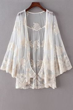 ☆ http://www.zaful.com/open-front-crochet-lace-blouse-p_175884.html ☆ https://es.pinterest.com/iolandapujol/pins/