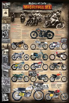 Motocross MX The Early Years 1924 - 1969 poster