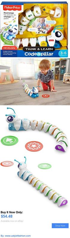 Developmental Baby Toys: Fisher-Price Think And Learn Code-A-Pillar: Kids New Learning Toys Programming BUY IT NOW ONLY: $54.48 #ustylefashionDevelopmentalBabyToys OR #ustylefashion Baby Girl Toys, Toys For Girls, Learn To Code, Learning Toys, Fisher Price, Programming, Coding, Kids, Young Children