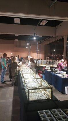 tgms tucson gem mineral show show off led trade show lights for