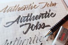 Noted: New Logo for Authentic Jobs by Sergey Shapiro and Cameron Moll