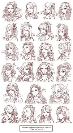 Excellent Anime Girl Hairstyles Anime Hairstyles And Anime On Pinterest Hairstyles For Men Maxibearus