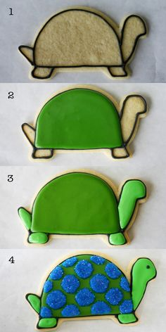 The Basics of Sugar Cookies and Royal Icing.   The cookie recipe is for softer sugar cookies. Nice tutorial on flooding.