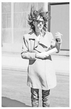 """This picture of Patti Smith was shot by photographer Judy Linn during the seventies in Brooklyn. All the photos from that period are available in a new edition of Smith's book, """"Just Kids"""". #ecofashion #sustainablefashion #greenfashion #fashion #sustainability #organic #organiccotton #womenswear #guiltfree #recyclable #circularfashion #green #onlinestore #shoponline #fashiongram #fairtrade #slowliving #wearitloveit #toptags #bestoftheday #vegan #ecofriendly #lookbook #pattismith #justkids…"""