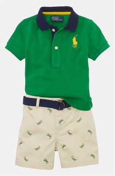 Ralph Lauren Polo & Shorts (Baby) available at #Nordstrom
