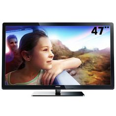 "TV 47"" LCD Philips Série 47PFL3007D/78 Full HD, por apenas R$1699,00"