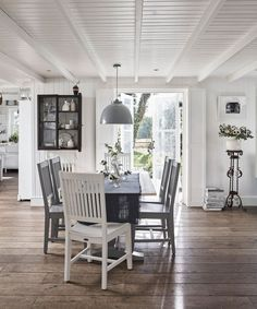 Table And Chairs, Dining Chairs, Dining Room, Joanna Gaines, Bristol, Home Decor Bedroom, Living Room Decor, Fitted Cabinets, Knock Down Wall