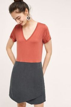 From Anthropology - would be easy to sew from a t-shirt and some knit fabric