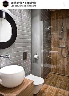Modern Bathroom Ideas for Small Bathrooms Elegant Walk In Shower In A Small Bathroom – Design Ideas for Bathroom Toilets, Basement Bathroom, Bathroom Interior, Bathroom Modern, Masculine Bathroom, Bathroom Layout, Wood Bathroom, Bathroom Faucets, Bathroom Storage