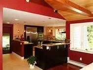 Modern Kitchen Wall Colors kitchen - dark cabinets, lighter grey walls | reno/home