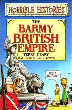 """""""Barmy British Empire (Horrible Histories)"""" av Terry Deary"""