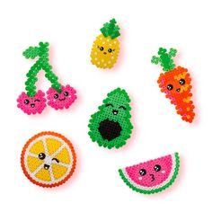 Easy Perler Bead Patterns, Melty Bead Patterns, Perler Bead Templates, Diy Perler Beads, Perler Bead Art, Pearler Beads, Beading Patterns, Hama Beads Kawaii, Peyote Patterns