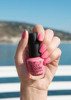 Dreamy pink! You're looking at 'Malibu Pier Pressure' - a new shade from OPI's California Dreaming Collection