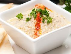 Healthy Eggplant Baba Ghanoush Recipe – This nutritious eggplant dip is a perfect creamy indulgence with a dash of Middle Eastern flavors.