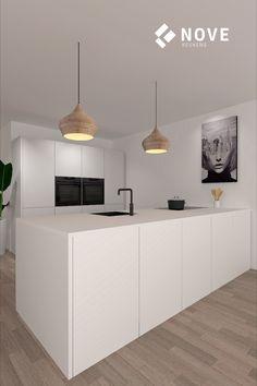 Kitchen Room Design, Modern Kitchen Design, Kitchen Interior, Small House Design, Cuisines Design, Kitchen Furniture, Interior Styling, Home And Living, Home Kitchens