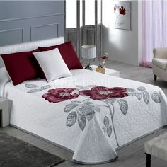 duvet cover - 4 Stars & Up Bed Sheet Painting Design, Bed Cover Design, Designer Bed Sheets, Bed Covers, Pillow Covers, Home Textile, Bed Spreads, Comforter Sets, Luxury Bedding
