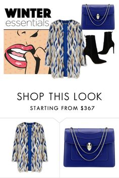 """""""Go !  www.anikle.blogspot.com #Winter #look #coat"""" by andzelika-niklewicz on Polyvore featuring Bulgari, ALDO, Winter, look and coat"""