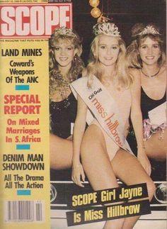 scope magazine   1988   miss hillbrow   JHB