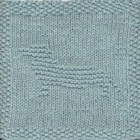 Free Knitted Dishcloth Patterns Of Animals Dishcloth