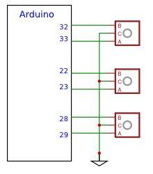 Arduino for Cockpit Simulator - Inputs