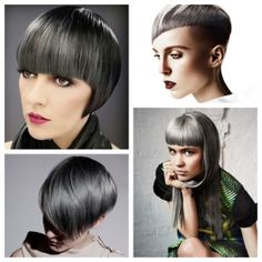 charcoal hair Goldwell how-to