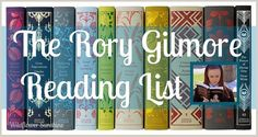 The Rory Gilmore Reading Challenge: In Gilmore Girls, bright-eyed Rory Gilmore is continually seen reading a wide array of books (339 of them!). View the List here: http://www.wildflowersunshine.com/2013/04/the-rory-gilmore-book-list-reading.html