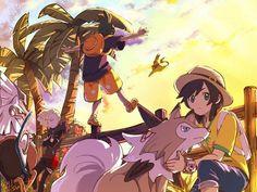 Sun, Gladion, hau // Pokemon sun and moon