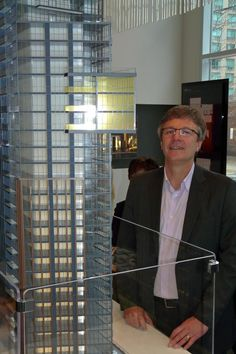 Yorkville Condominiums Model And Architect Rudy Wallman, image by Craig White