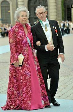 Princess Christina of Sweden and Tord Magnuson