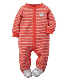 Kiddiezoom Baby Unisex Baby Sleep /& Play Organic 4-Piece Romper-Jumpsuit PJ Button Front Footed Pajama
