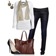 """mixed neutrals"" by partywithgatsby on Polyvore"